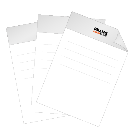 Briefpapier HKS   DIN A3 beidseitig   3/1-farbig