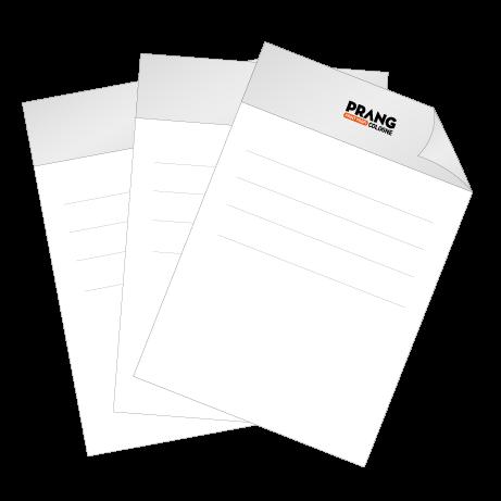 Briefpapier HKS | DIN A4 beidseitig | 3/1-farbig