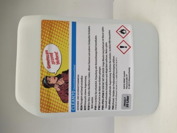 Desinfektionsmittel ALBA Clean 70   zum Nachfüllen   20 l