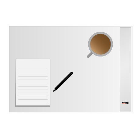 Schreibtischunterlagen