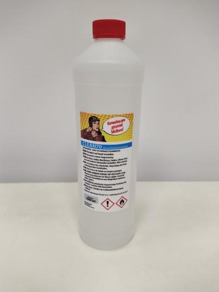 Desinfektionsmittel ALBA Clean 70 | zum Nachfüllen | 1 l